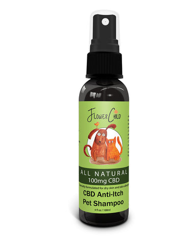 Anti-itch pet shampoo 100mg