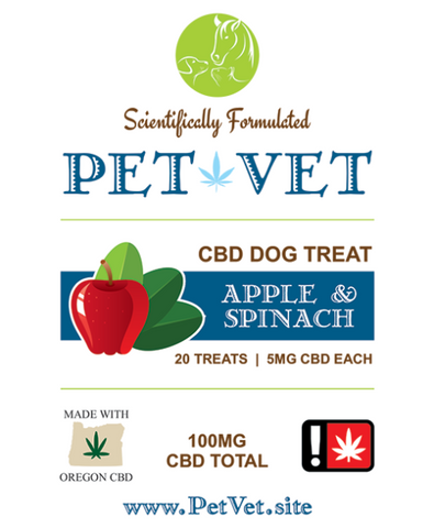 Pet Vet dog treats 50mg