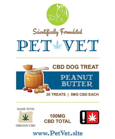 Pet Vet 100mg Dog Treats