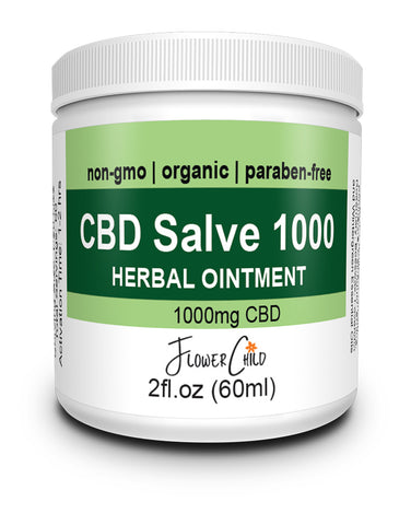 Flowerchild CBD Salve 1000mg