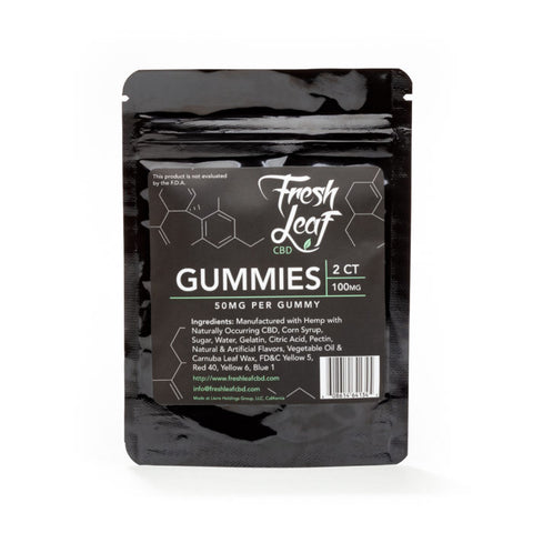 Fresh Leaf 100/300mg Gummies