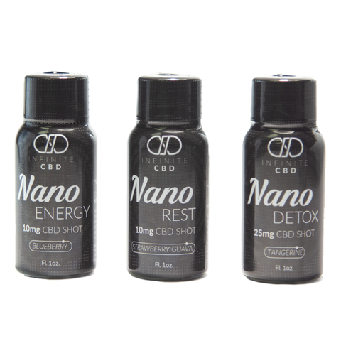 Infinite Nano CBD Shots 25mg (All Flavors)