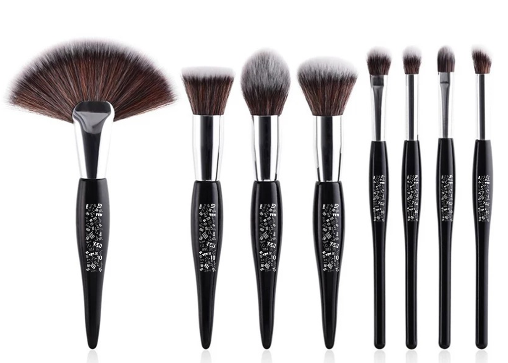 BODACIOUSLY GLAM'D 8PCS BRUSH SET