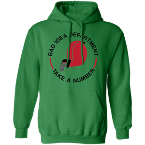 Gildan Hooded Sweatshirt Decorated and sold by Germain Studios