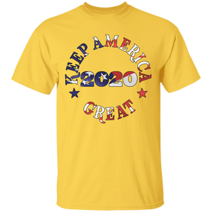 Keep America Great 2020 Gildan T-Shirt Decorated and sold by Germainstudios.net