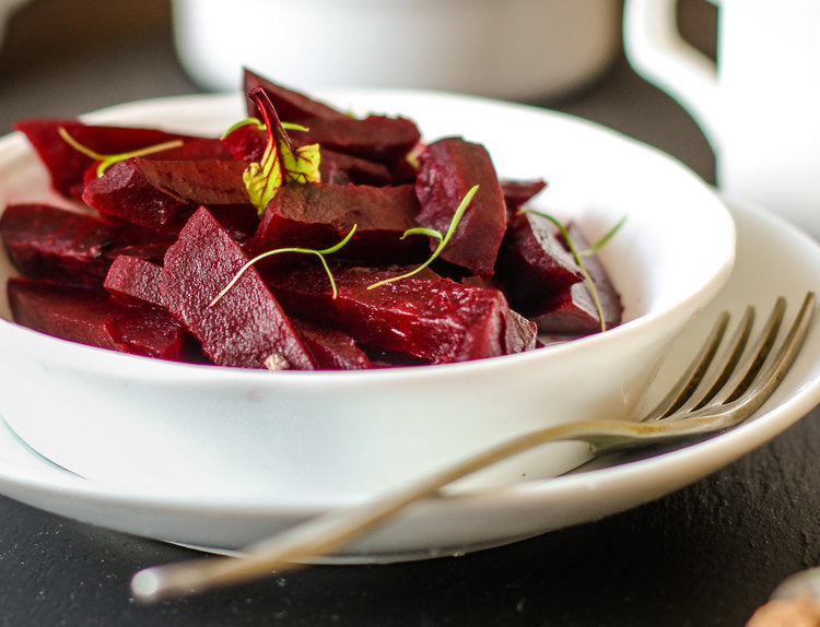 Roasted Beet & Pear Salad