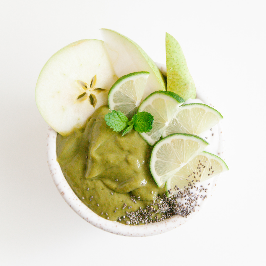 Matcha Greens Smoothie Bowl