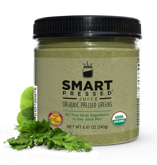 Organic Wheatgrass Juice Powder- The Foundation of SMART Pressed Organic Greens