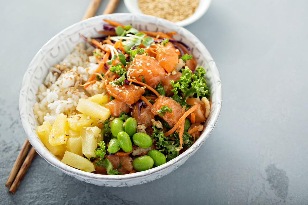Pineapple-Ginger Rice Bowl