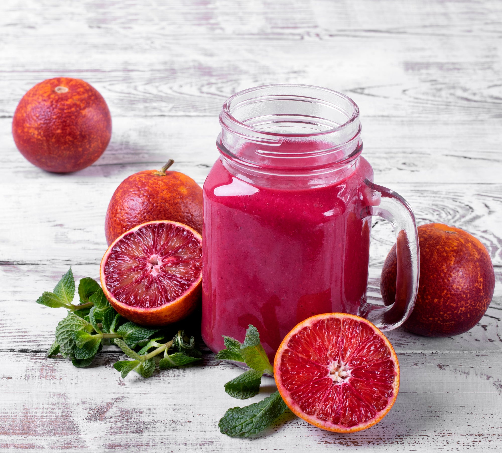 Shante's Blood Orange Greens Smoothie