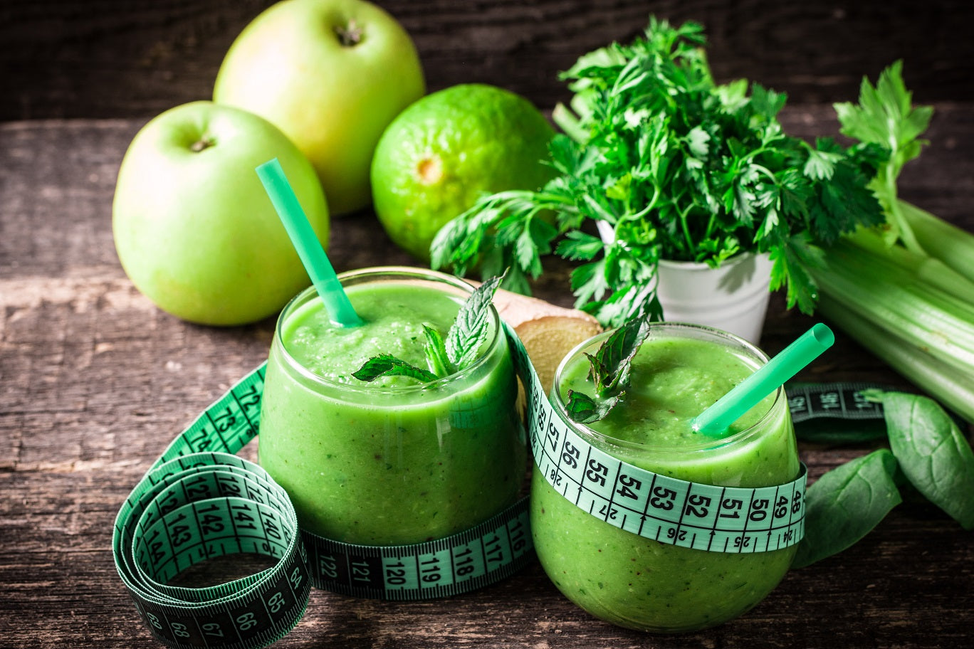 Apple Greens Smoothie