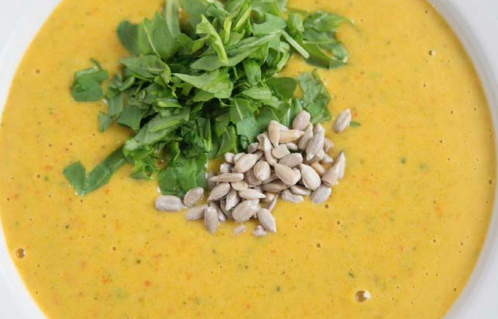 Nourishing Coconut Curry Soup