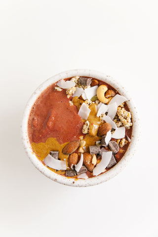 Image of Chocolate Beets Smoothie Bowl