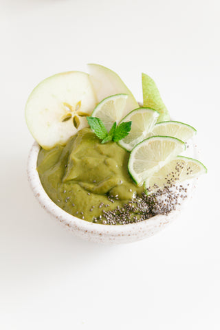 Image of Matcha Greens Smoothie Bowl
