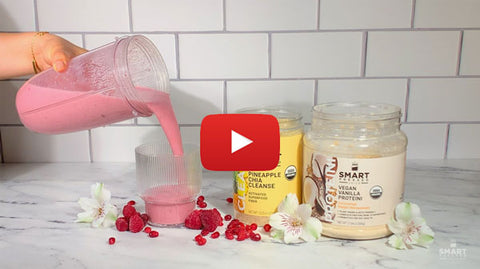 Youtube Video Tutorial Royal Pomegranate Cut Cravings Smoothie
