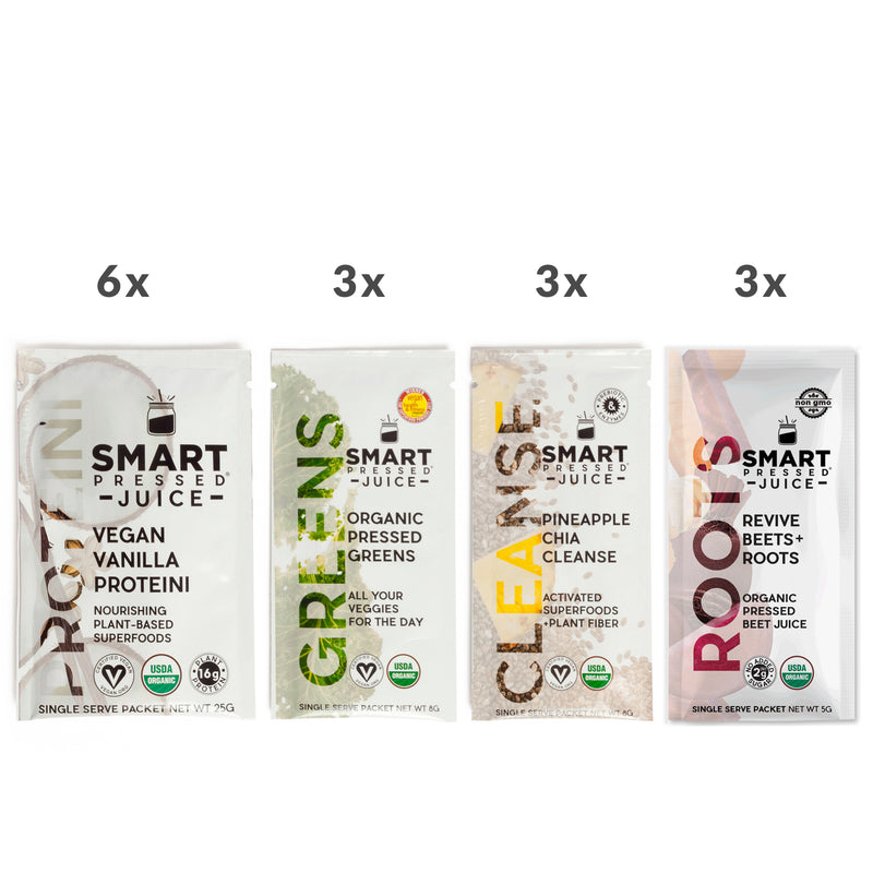smart pressed juice packaging