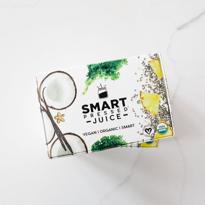 smart pressed juice packaging box