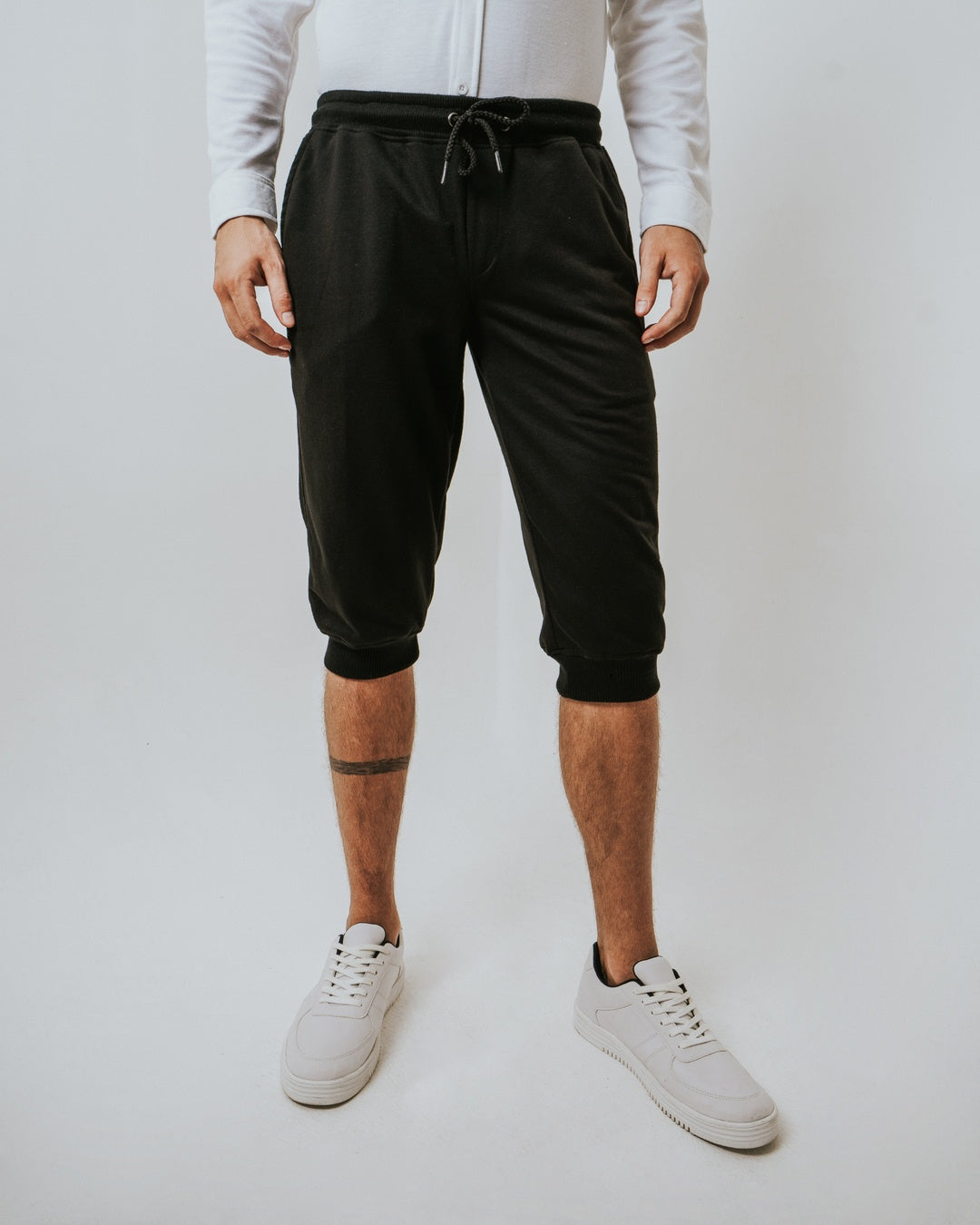 Calv Jogger Terry Black