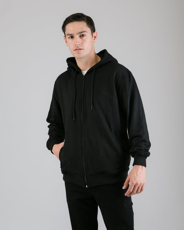 Cezip Terry Jacket Black