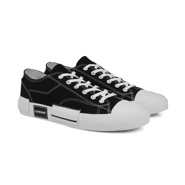 Dallas Vulcan Sneakers Black-White