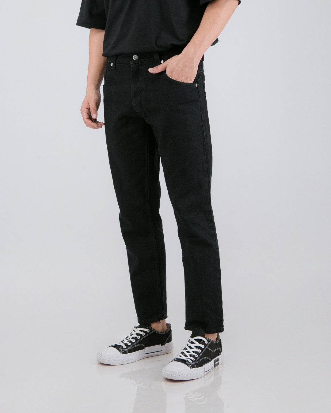 Nml Jeans Slim Non Stretch Black