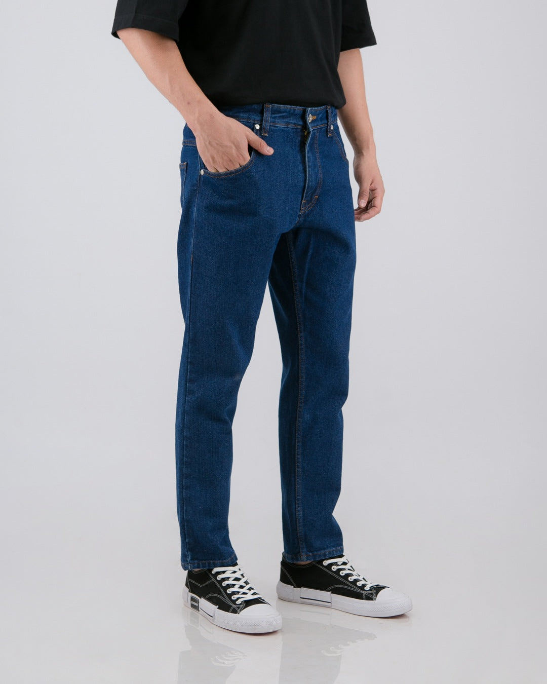 Nml Jeans Slim Non Stretch Mid Blue