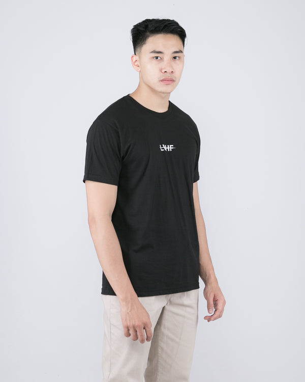 Scratch Mid Tee Black