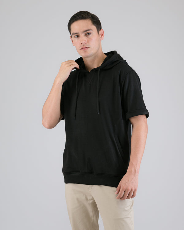 Sho Terry Pullover Black