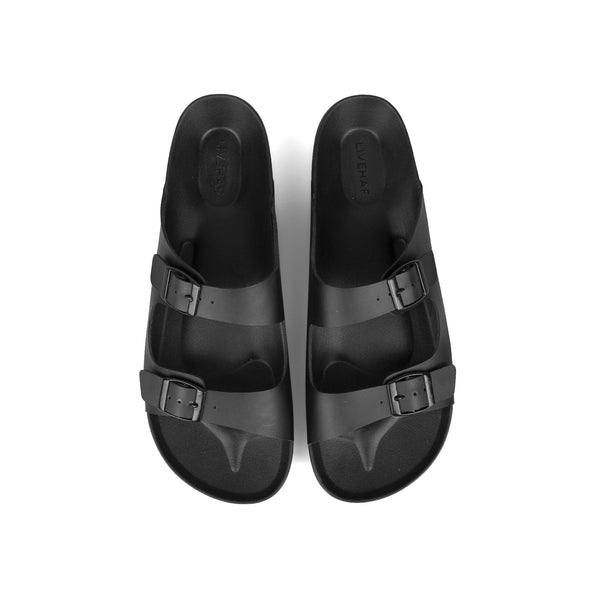 Slipper Dostrap All Black