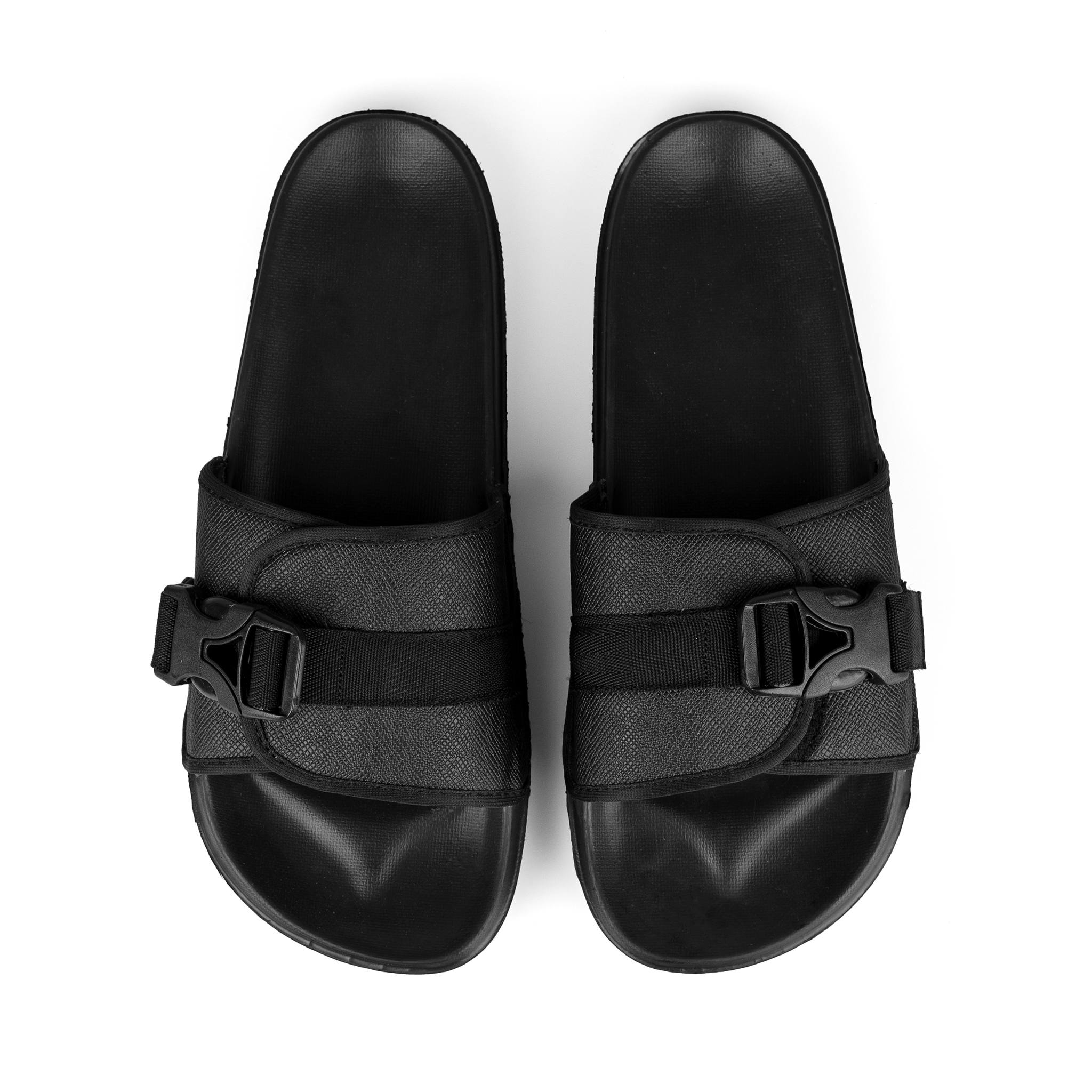 Slipper V2 Buckle All Black