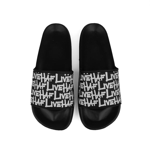 Slipper V2 Graf Black