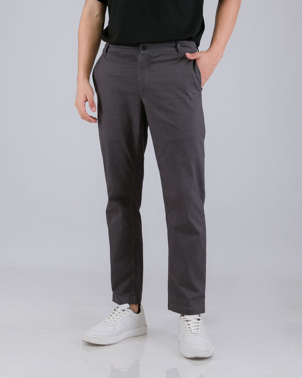 Tib Chino Long Pants Dark Gray