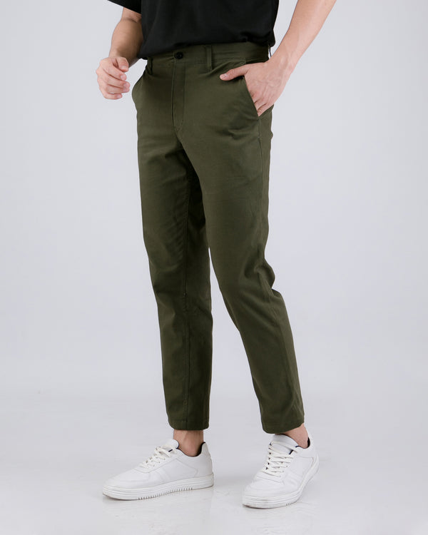 Tib Chino Long Pants Green Army