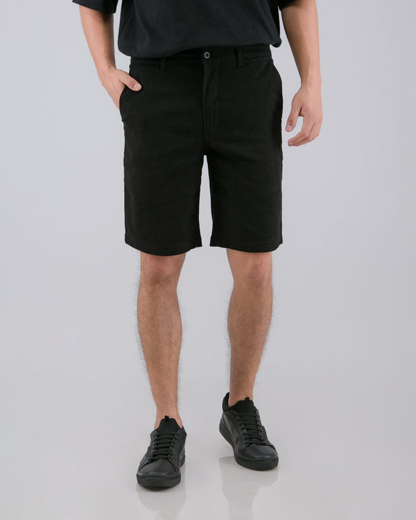 Tib Chino Short Pants Black