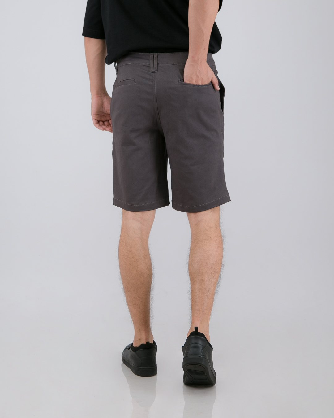 Tib Chino Short Pants Dark Gray