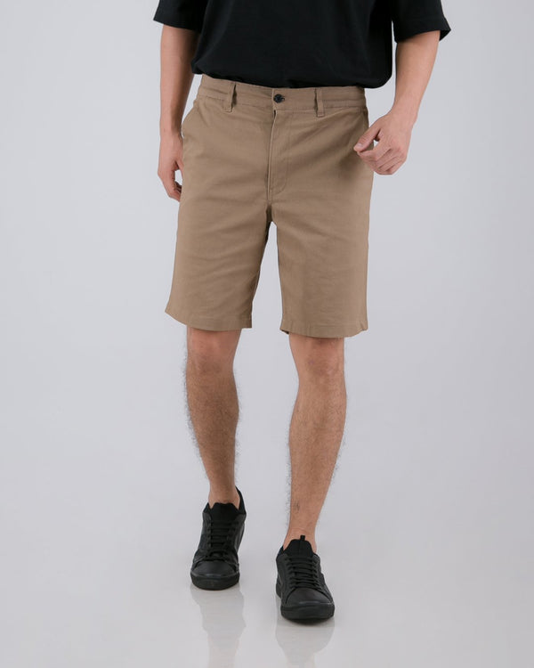 Tib Chino Short Pants Dark Mocha