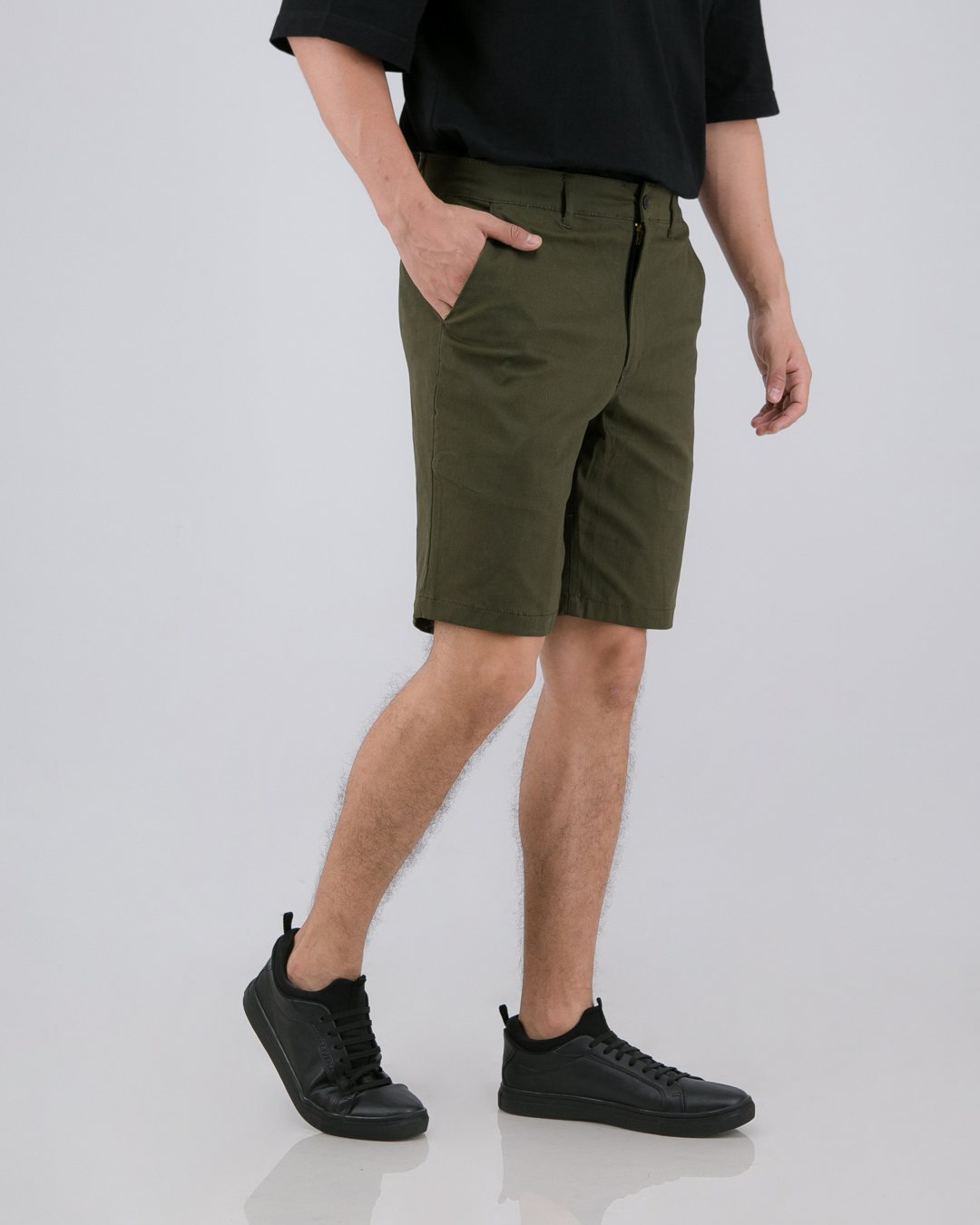 Tib Chino Short Pants Green Army