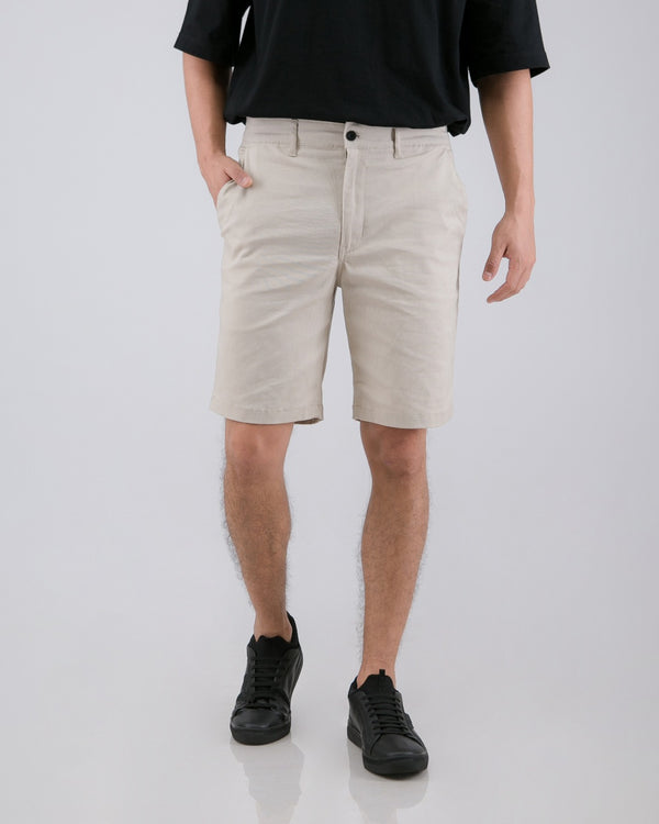 Tib Chino Short Pants Light Cream