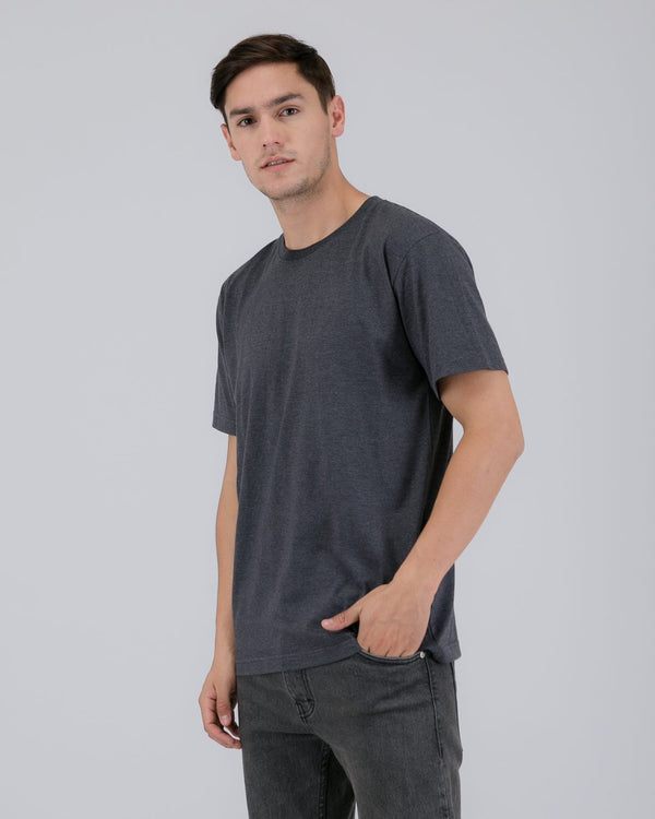 Tib Plain Tee Dark Gray