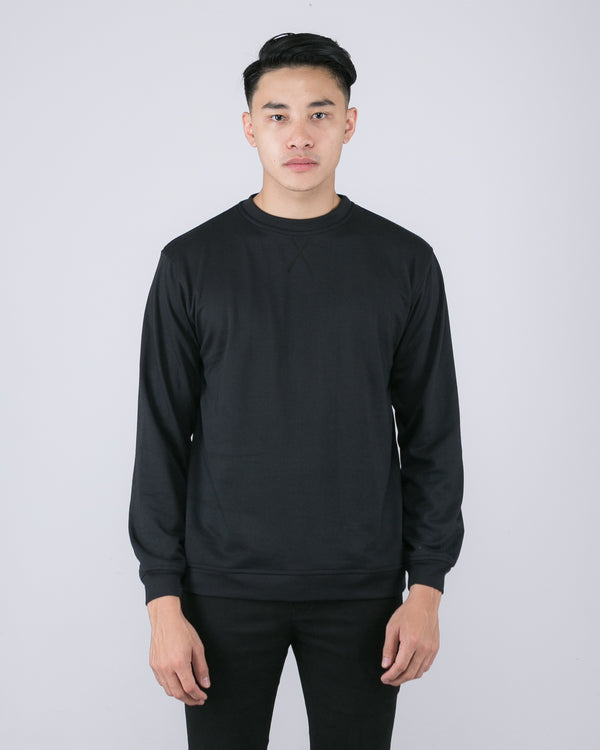 Tib Terry Sweater Black