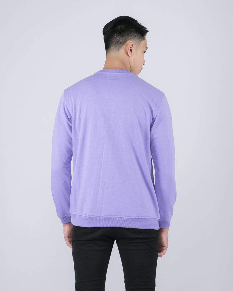 Tib Terry Sweater Lavender