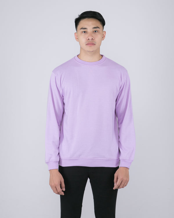 Tib Terry Sweater Lilac