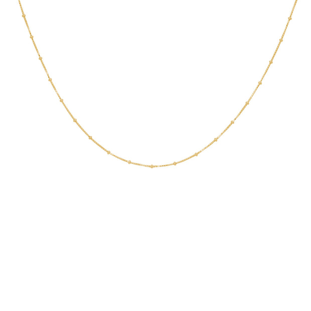TINY DOTS ketting gold