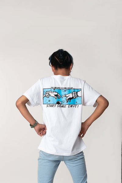 Start some shit!! graphic tee