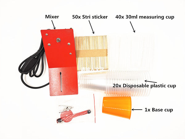 Adjustable Epoxy Resin Mixer Kit