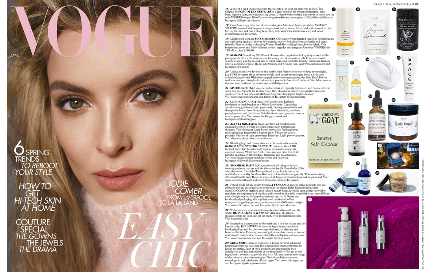 the mineraw featured british vogue natural skincare malaysia killing eve
