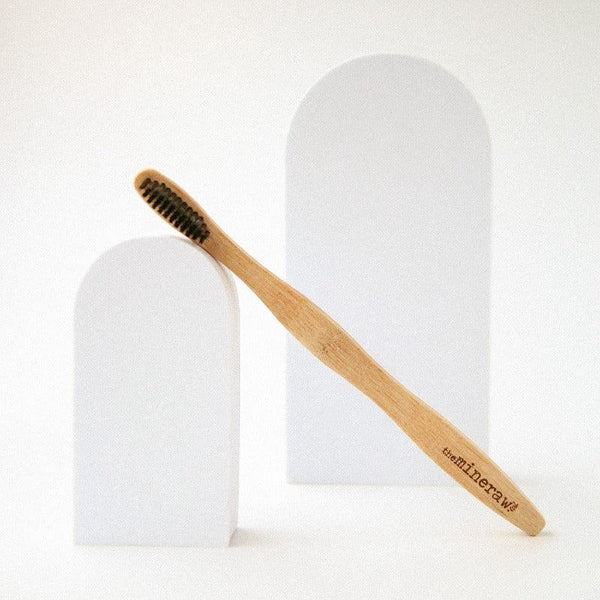 Bamboo Toothbrush - The Mineraw