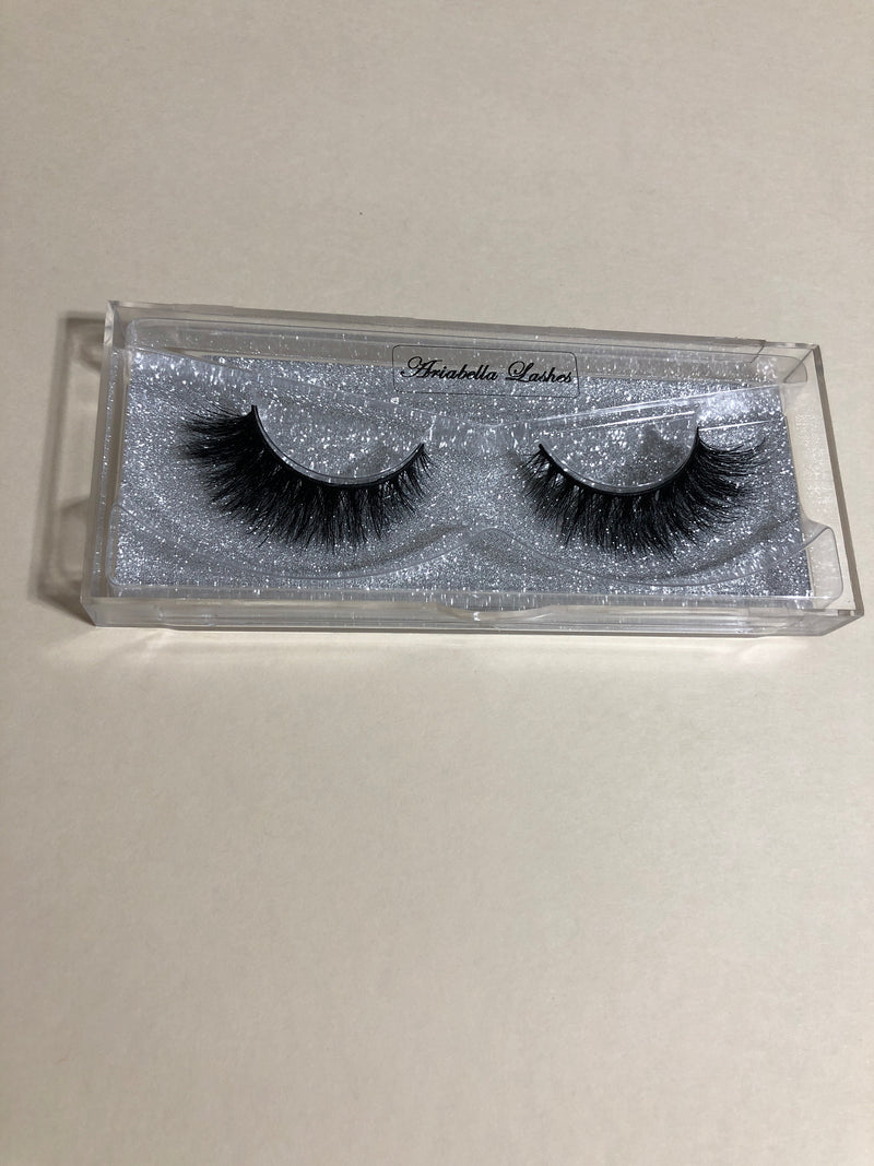 Cheetah lashes