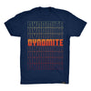 The Dynomite Effect Tee, Dark Grey or Navy
