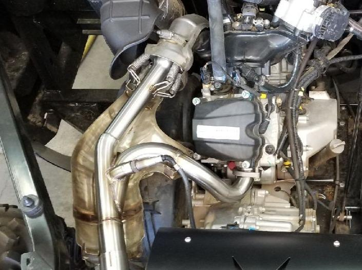 2016-2019 Can Am Defender 1000 Exhaust